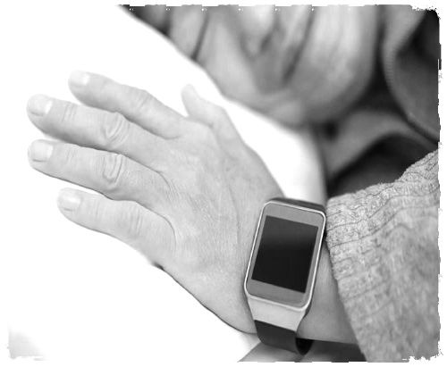A medical alert system in the wrist of a sleeping elder